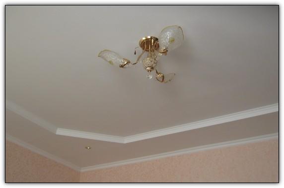 Шпаклёвка потолка своими руками, гипсокартонный потолок