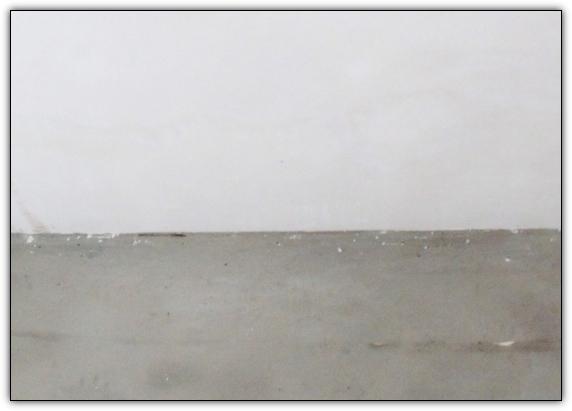 Шпаклёвка потолка из гипсокартона, первый слой